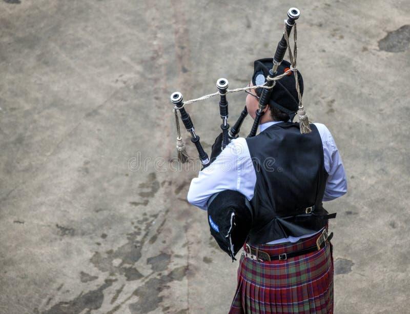Τα σκωτσέζικα bagpiper5 στοκ φωτογραφίες με δικαίωμα ελεύθερης χρήσης