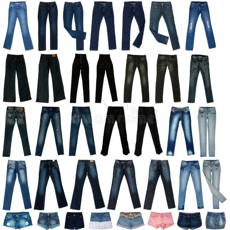 τα σορτς τζιν εικόνας περιζώνουν το παντελόνι στοκ φωτογραφία