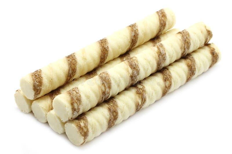 τα στενά μπισκότα ξεφυσούν στοκ εικόνα με δικαίωμα ελεύθερης χρήσης
