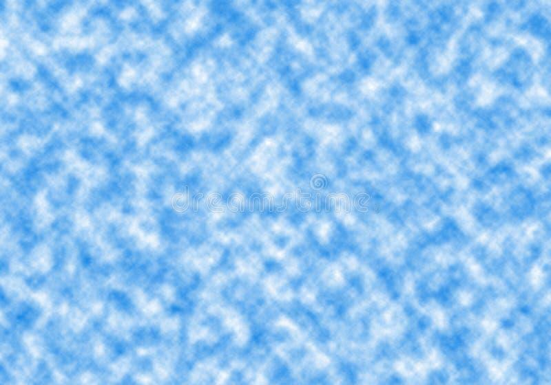 τα σύννεφα διασκόρπισαν τ&omic στοκ φωτογραφία