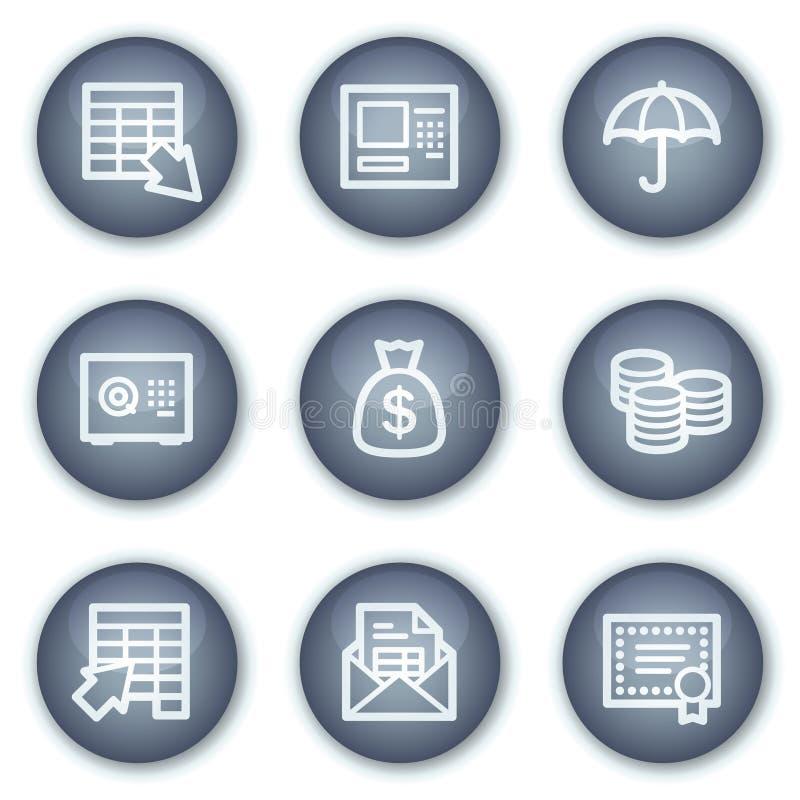τα τραπεζικά κουμπιά περι& ελεύθερη απεικόνιση δικαιώματος