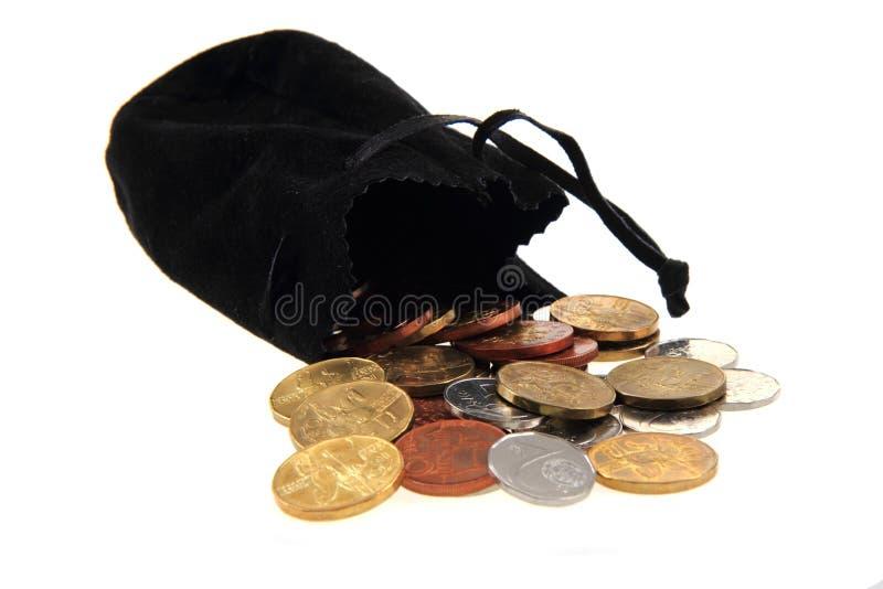 τα τσεχικά νομίσματα στοκ φωτογραφία με δικαίωμα ελεύθερης χρήσης