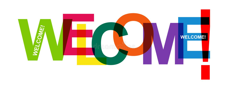 Τα τυπωμένα κείμενα χρώματος είναι ΚΑΛΏΣ ΉΡΘΑΤΕ! , για τη διακόσμηση και το σχέδιο ελεύθερη απεικόνιση δικαιώματος