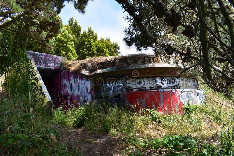 Τα υπολείμματα του δυτικού οχυρού Miley εωραιοποίησαν κάτω από τα γκράφιτι, 23 στοκ φωτογραφίες με δικαίωμα ελεύθερης χρήσης