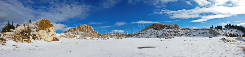 Τα χειμερινά βήματα στοκ εικόνες