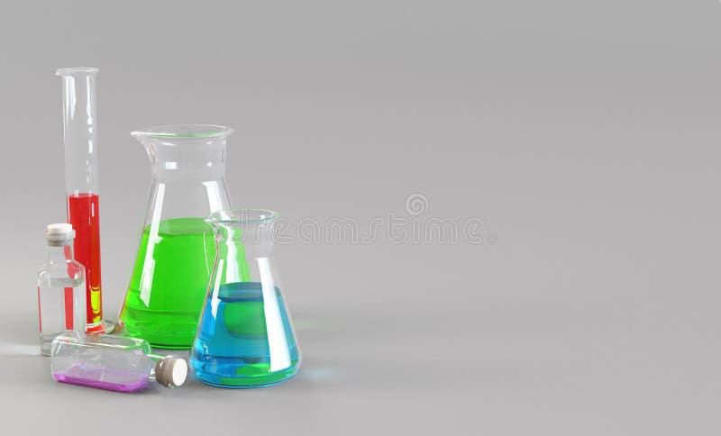 Τα χημικά σιφώνια με τα διαφορετικά ρευστά, δίνουν ελεύθερη απεικόνιση δικαιώματος