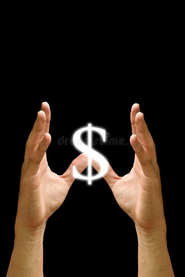 τα χρήματα προστατεύουν τ&e στοκ εικόνες