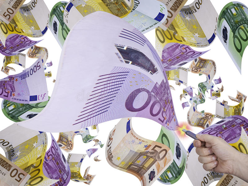 τα χρήματα σώζουν στοκ φωτογραφία με δικαίωμα ελεύθερης χρήσης