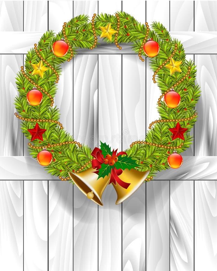τα Χριστούγεννα ανασκοπήσεων σας σχεδιάζουν διανυσματική απεικόνιση