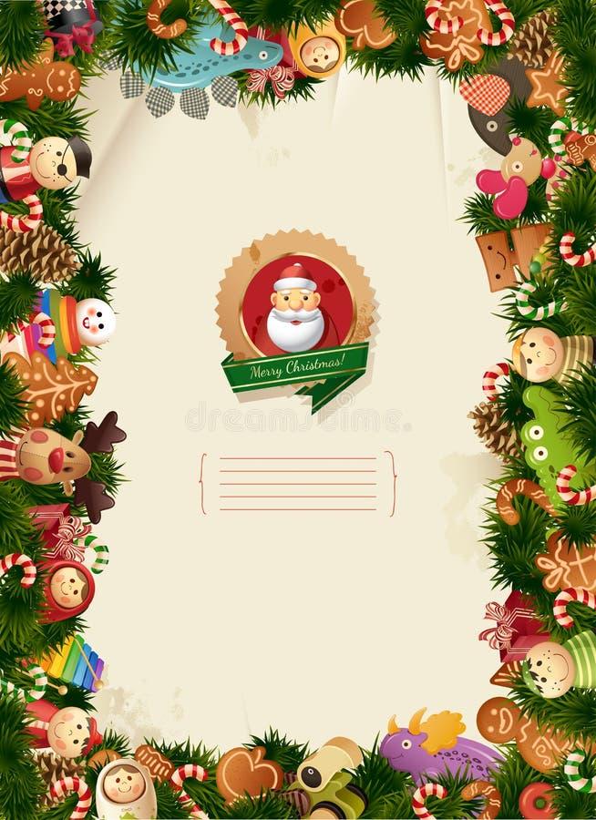 τα Χριστούγεννα ανασκόπη&sigm απεικόνιση αποθεμάτων