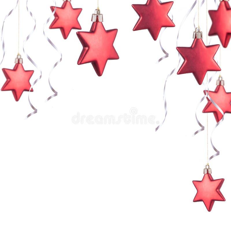 τα Χριστούγεννα διακοσμούν το κόκκινο στοκ φωτογραφίες με δικαίωμα ελεύθερης χρήσης