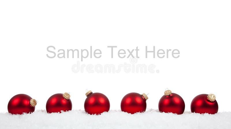τα Χριστούγεννα μπιχλιμπι στοκ εικόνα