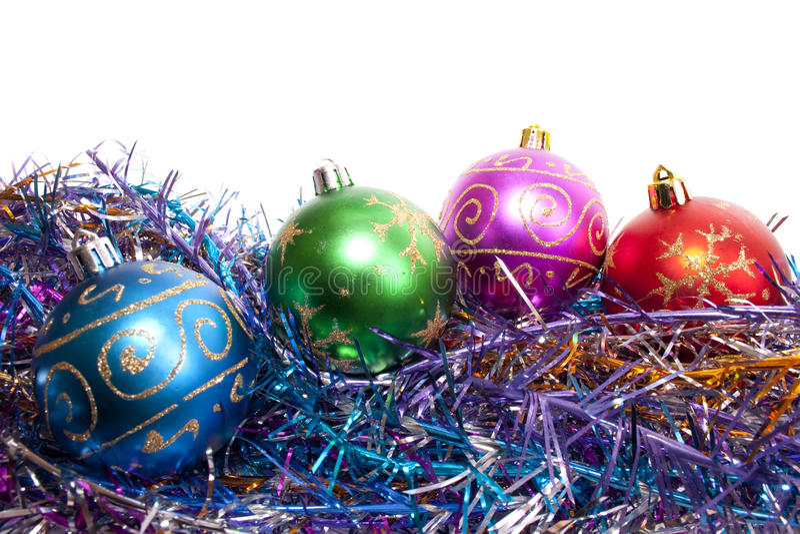 τα Χριστούγεννα σφαιρών στοκ φωτογραφία με δικαίωμα ελεύθερης χρήσης