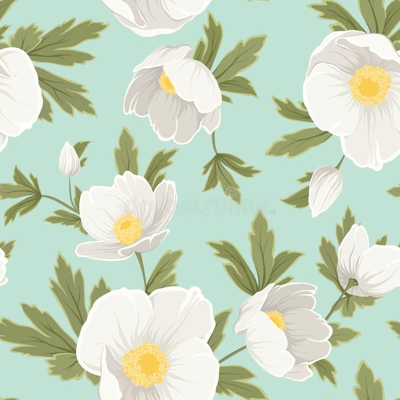 Τα Χριστούγεννα anemone Hellebore αυξήθηκαν άσπρος κίτρινος ελεύθερη απεικόνιση δικαιώματος