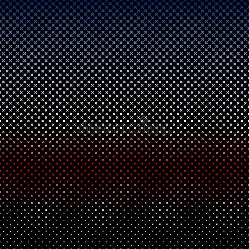 Τα χρώματα αμερικανικών σημαιών το διαγώνιο σχέδιο απεικόνιση αποθεμάτων