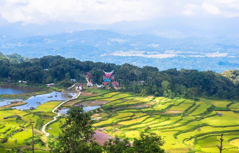 Τα χωριά στη Tana Toraja, Sulawesi στοκ εικόνες με δικαίωμα ελεύθερης χρήσης