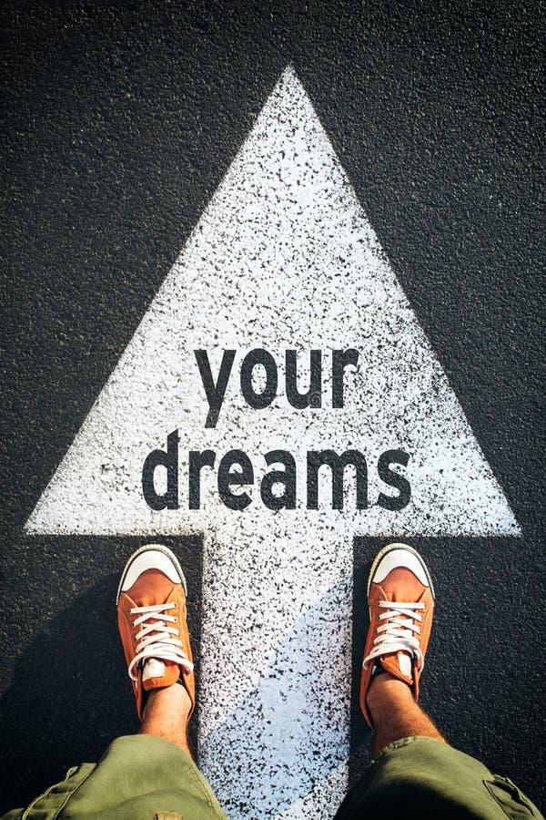 Τα όνειρά σας στοκ φωτογραφίες