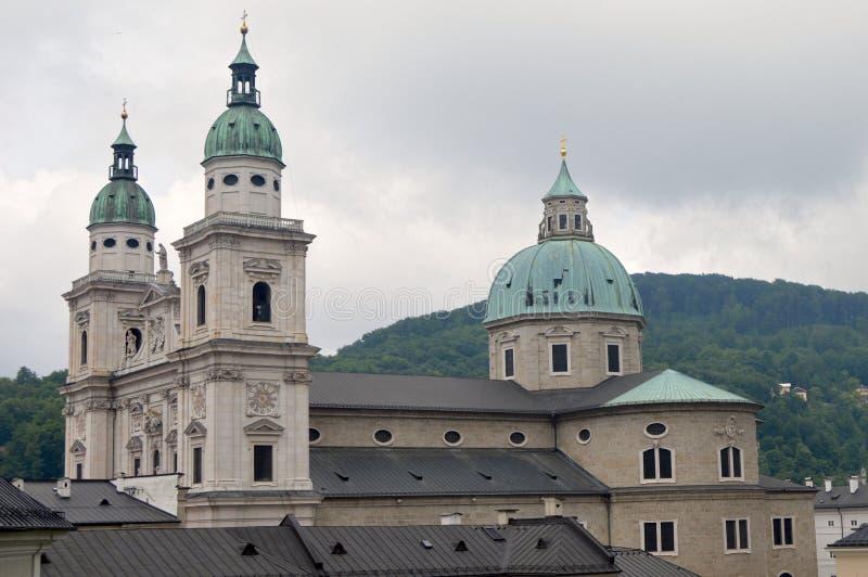 Τα DOM zu Σάλτζμπουργκ στο Σάλτζμπουργκ, Αυστρία στοκ φωτογραφία με δικαίωμα ελεύθερης χρήσης