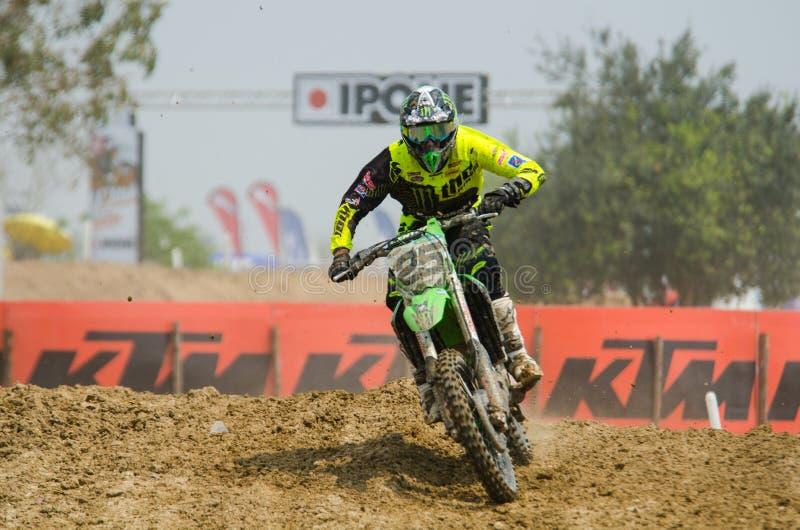Τα Grand Prix πρωταθλήματος Wolrd μοτοκρός FIM MXGP της Ταϊλάνδης στοκ φωτογραφίες