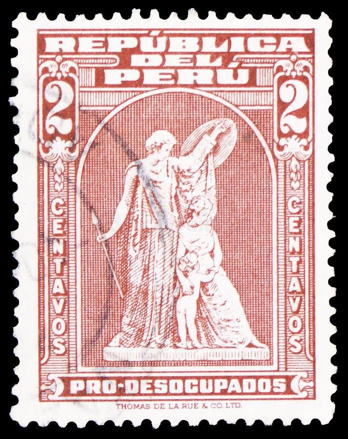 Τα habilitadas Estampillas, γραμματόσημα που επιτράπηκαν, πρόσθετος φόρος για τους ανέργους προσαύξησαν τα definitives του 1978 s στοκ φωτογραφία με δικαίωμα ελεύθερης χρήσης