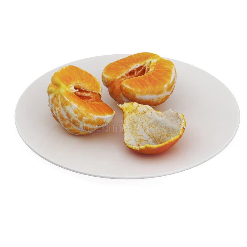 Τα Isometric φρούτα τρισδιάστατα δίνουν στοκ εικόνα