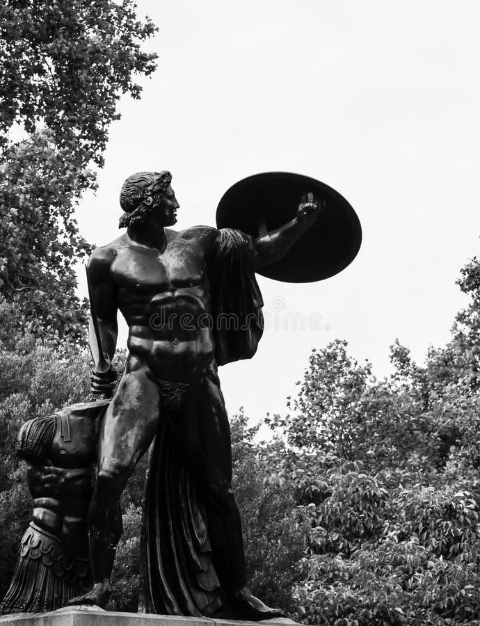 Τα satues Αχιλλέα στο πάρκο hyde στοκ εικόνα με δικαίωμα ελεύθερης χρήσης