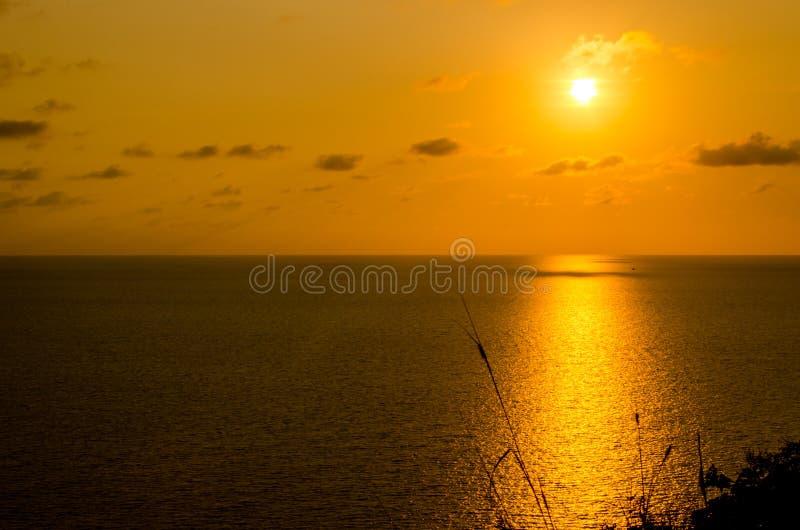 Τα sunsets στοκ εικόνα