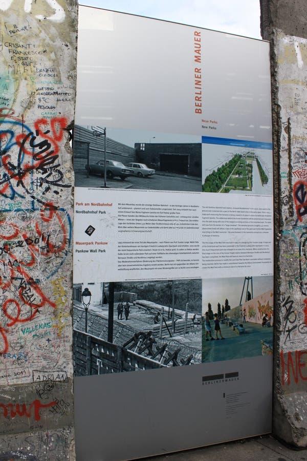 Τείχος του Βερολίνου - Γερμανία στοκ φωτογραφίες με δικαίωμα ελεύθερης χρήσης