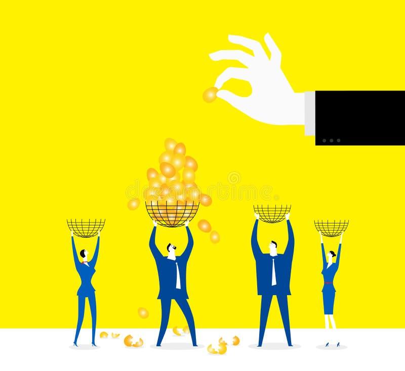 Τεθειμένα αυγά σε ένα καλάθι απεικόνιση αποθεμάτων