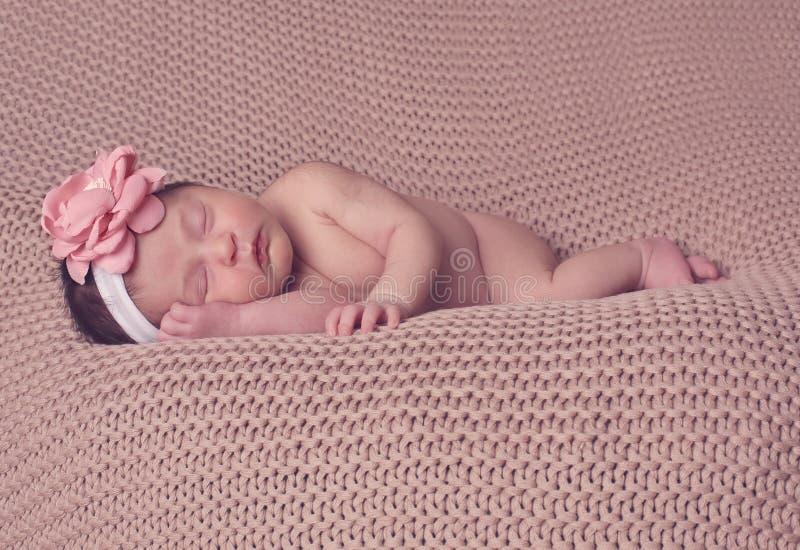 Τεθειμένος νήπιο ύπνος στοκ εικόνα με δικαίωμα ελεύθερης χρήσης