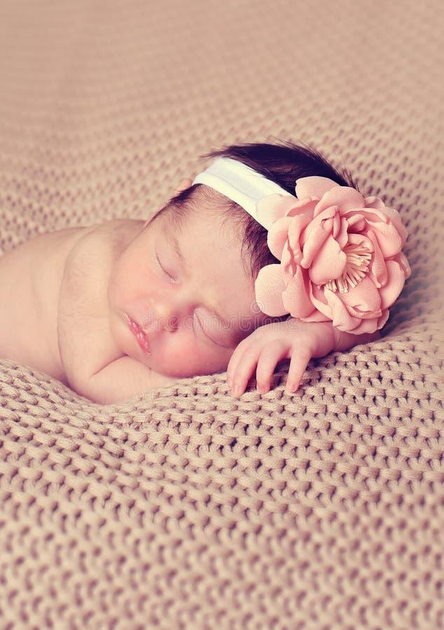 Τεθειμένος νήπιο ύπνος στοκ φωτογραφίες
