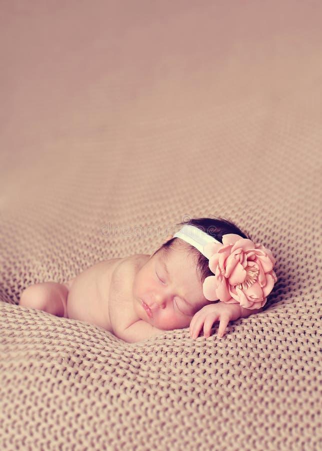 Τεθειμένος νήπιο ύπνος στοκ εικόνες