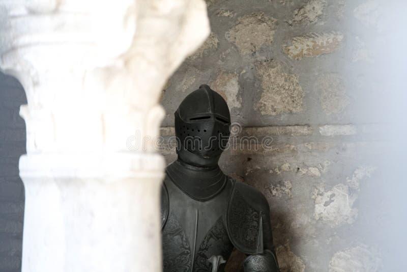 Τεθωρακισμένο ενός ιππότη στοκ φωτογραφίες με δικαίωμα ελεύθερης χρήσης