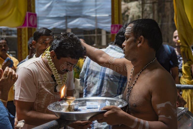 Τελετουργικό pelgrimage Hinduism στοκ εικόνες