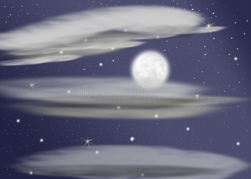 τελευταίο φεγγάρι απεικόνιση αποθεμάτων