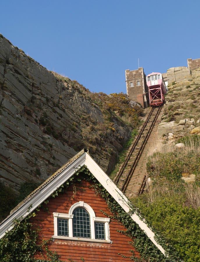 τελεφερίκ σιδηρόδρομο&sigma στοκ εικόνα με δικαίωμα ελεύθερης χρήσης