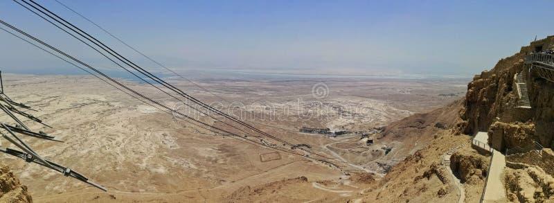 Τελεφερίκ Masada στοκ φωτογραφία