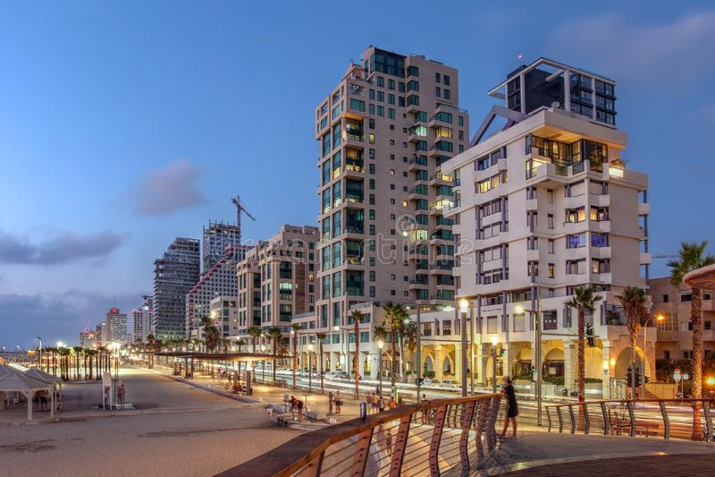 Τελ Αβίβ, Ισραήλ στοκ εικόνα