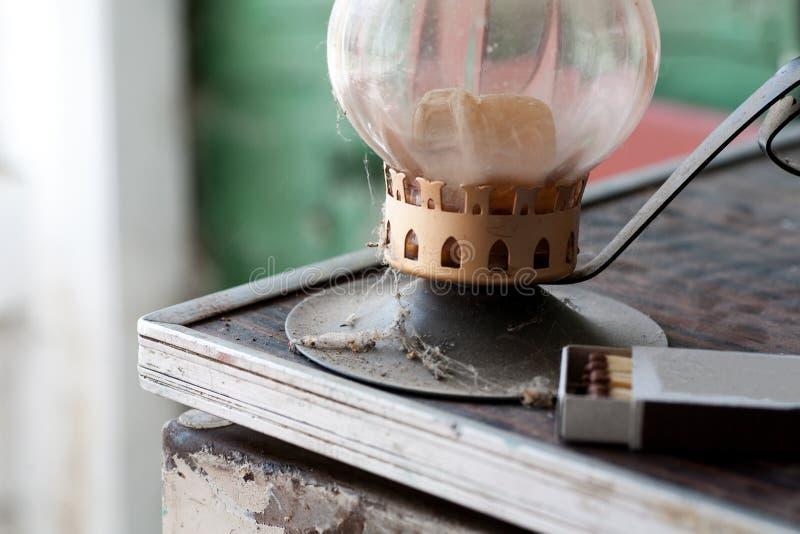 Τεμάχιο ενός παλαιού κατόχου κεριών στοκ εικόνες