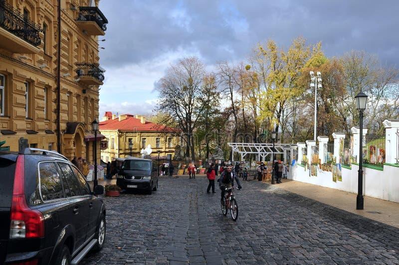 Τεμάχιο της καθόδου Andreevsky στοκ φωτογραφία με δικαίωμα ελεύθερης χρήσης