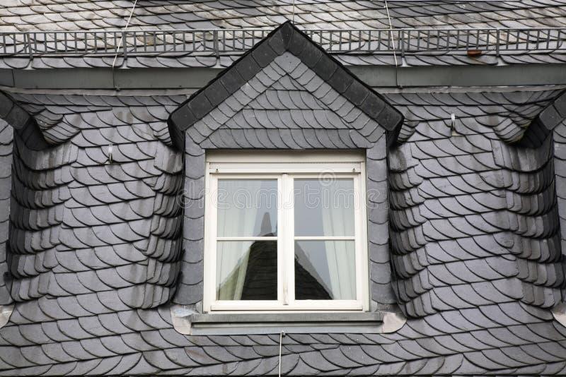 Τεμάχιο της στέγης στο Βισμπάντεν Γερμανία στοκ φωτογραφίες