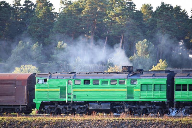 Τεμάχιο του παλαιού φορτηγού τρένου στοκ εικόνες