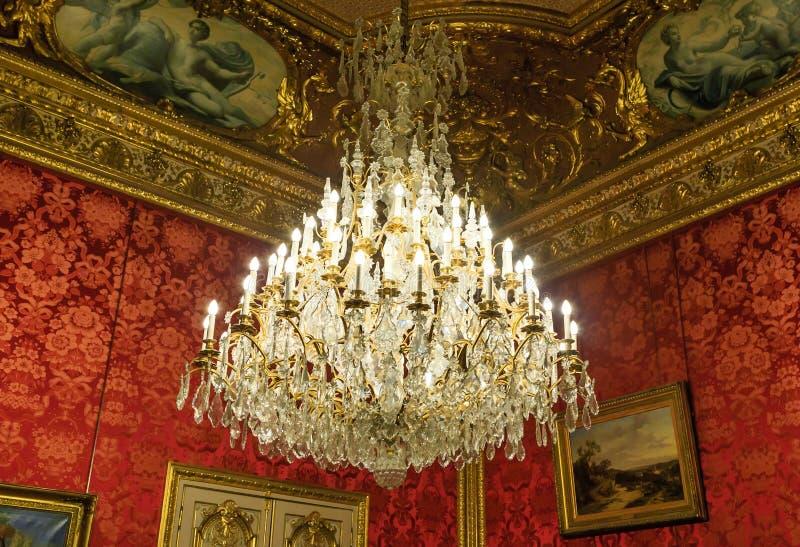 Τεμάχιο των διαμερισμάτων Napoleon ΙΙΙ Παρίσι στοκ φωτογραφία με δικαίωμα ελεύθερης χρήσης