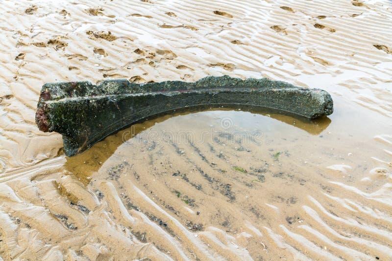 Τεμάχιο Norcon Pillbox, σημείο Ayr στοκ εικόνες με δικαίωμα ελεύθερης χρήσης