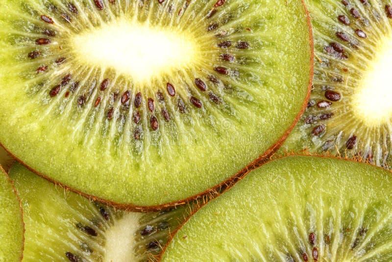 Τεμαχισμένα juicy φρούτα ακτινίδιων επάνω από την όψη στοκ φωτογραφίες με δικαίωμα ελεύθερης χρήσης
