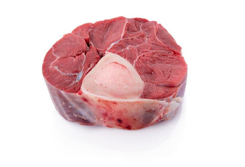 Τεμαχισμένη κνήμη βόειου κρέατος στοκ εικόνα με δικαίωμα ελεύθερης χρήσης