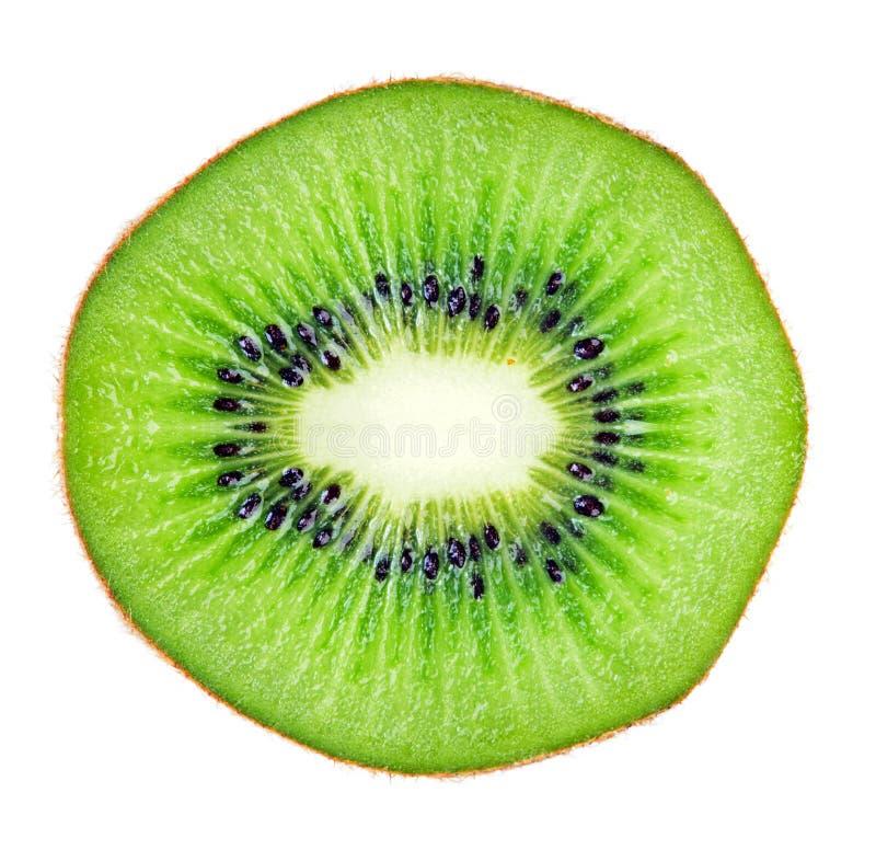 Τεμαχισμένη μακροεντολή φρούτων ακτινίδιων στοκ φωτογραφία με δικαίωμα ελεύθερης χρήσης