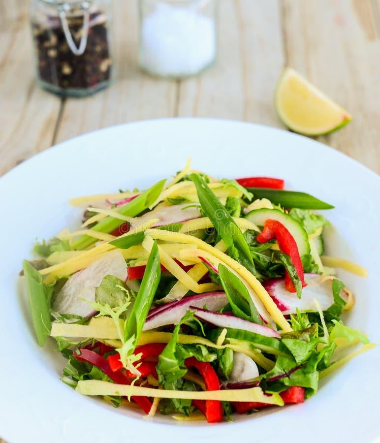 Τεμαχισμένη ταϊλανδική σαλάτα στοκ φωτογραφία με δικαίωμα ελεύθερης χρήσης