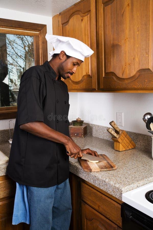 τεμαχισμός τροφίμων αρχιμ&alph στοκ εικόνες