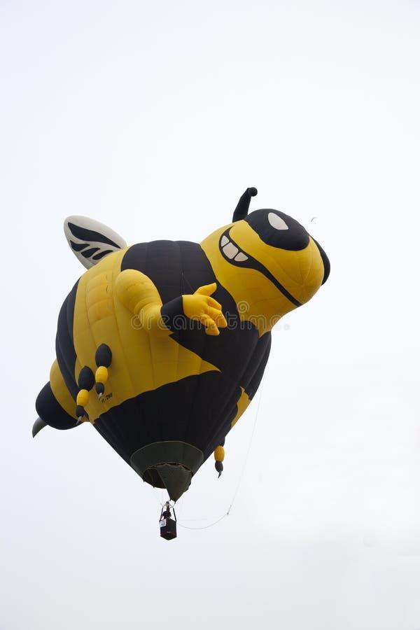 Τεράστια απογείωση μπαλονιών μελισσών στοκ φωτογραφία με δικαίωμα ελεύθερης χρήσης